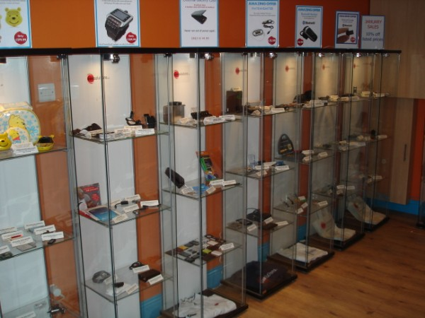 GSM Solutions Shop Display